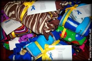 Donated Fleece Blankets
