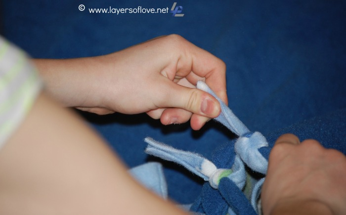 Tying Blankets